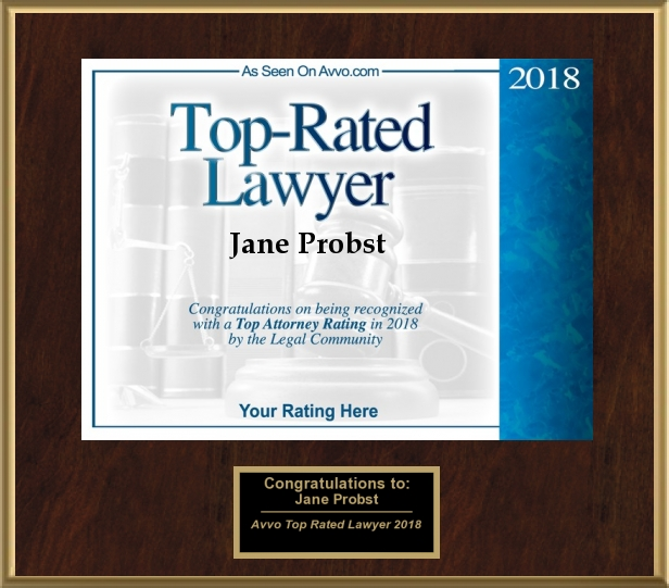 Jane Probst Top Rated Attorney